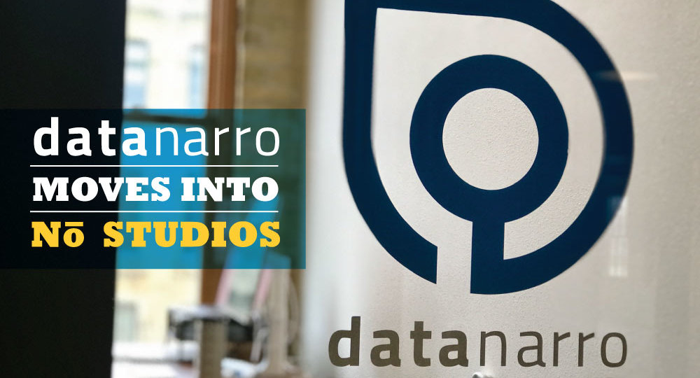 Data Narro Moves into NŌ Studios
