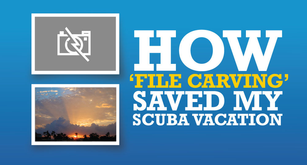How File Carving Saved My Scuba Vacation